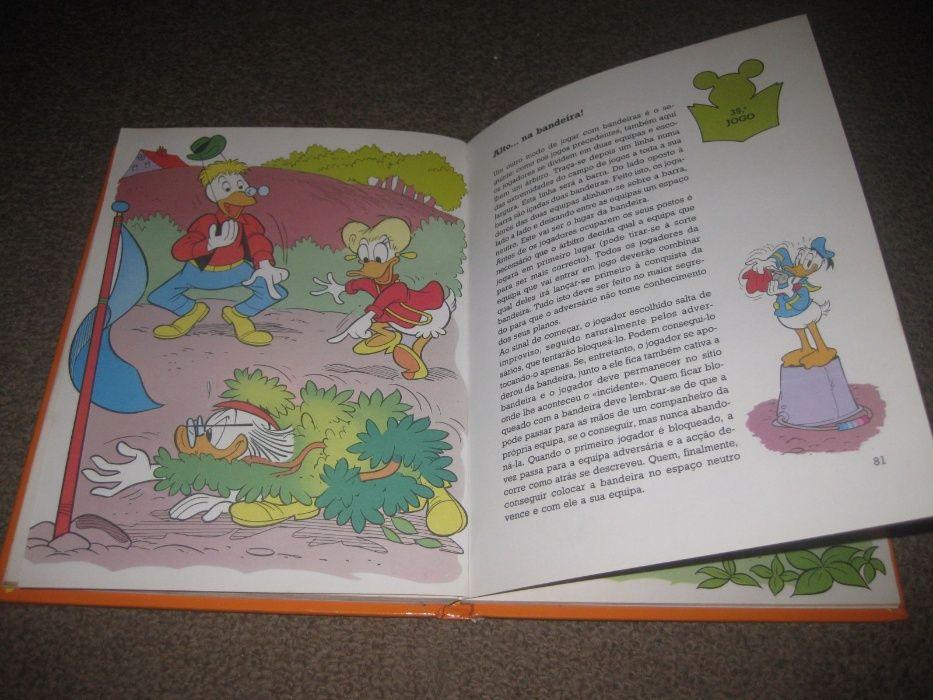 """Livro """"Jogos de Ar Livre"""" da Walt Disney Trofa - imagem 4"""