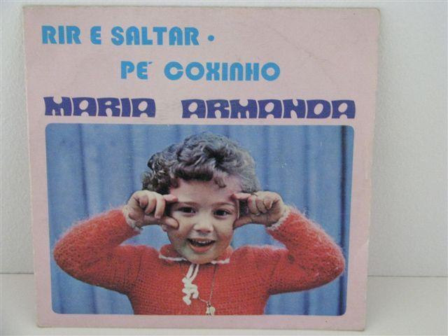Vendo vinil Single Maria Armanda - Rir e saltar