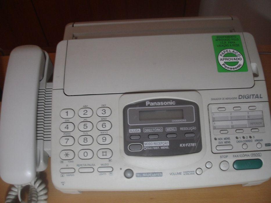 Telefone - Fax Panasonic NOVO