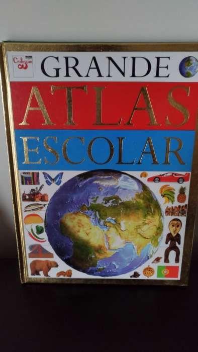 3 Atlas / 1 Livro Recordes e Curiosidades