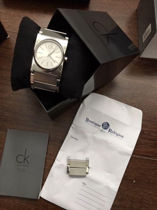 d69d68697d4 Relógio Calvin Klein sem uso