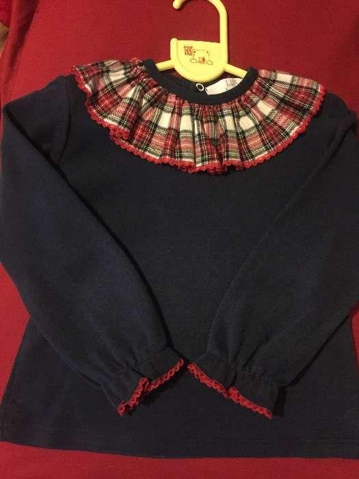 Blusas golinha menina 2 anos