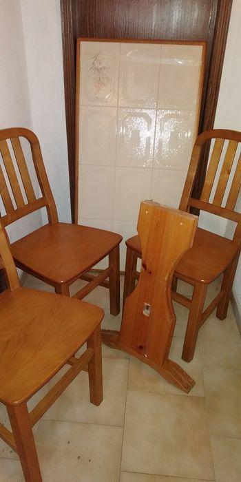 Mesa Cozinha em Madeira