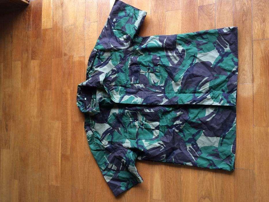 f34900310667d Camisa camuflada padrão português