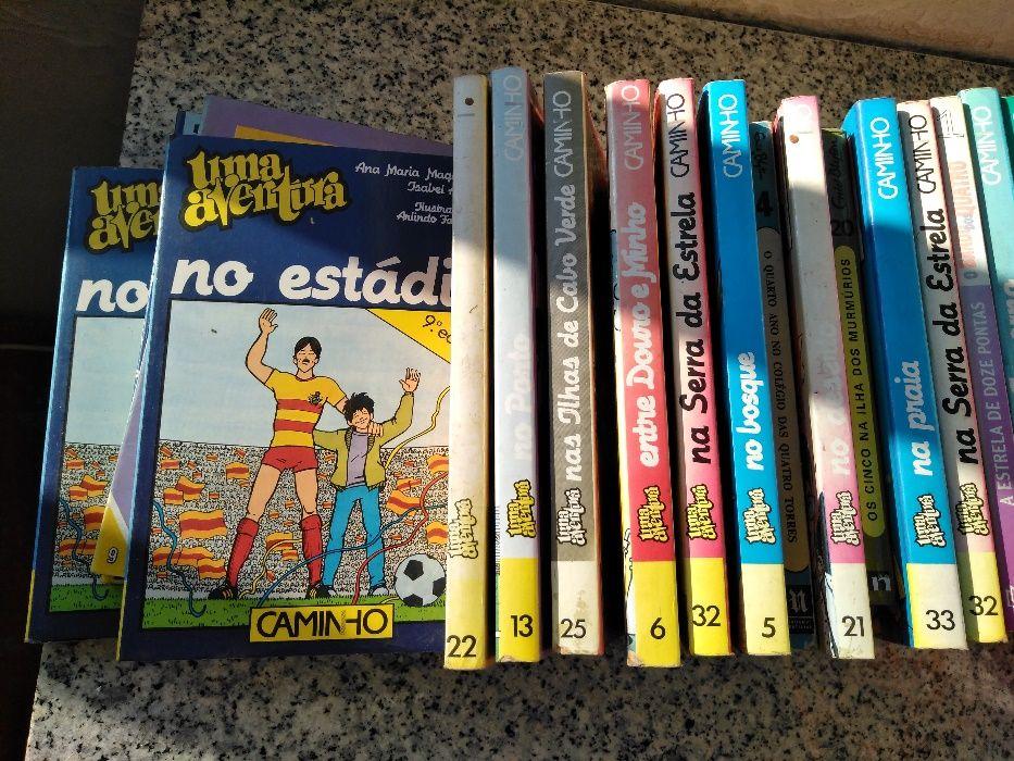 Coleção de livros Uma Aventura...