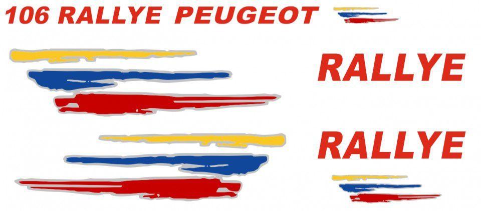 890641601f2b0 Kit Autocolantes Peugeot 106 Rallye Machico • OLX Portugal