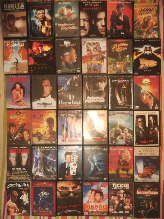 Lote 288 DVD's originais (Lote 16)