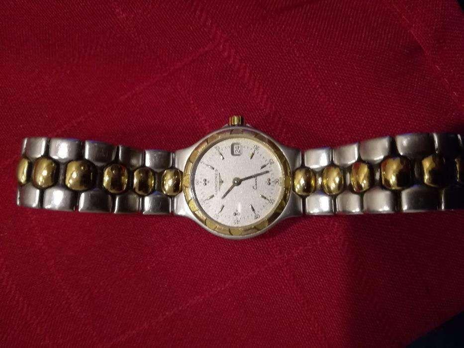 30fe3f32a56 Relógio Longines e Seiko gold