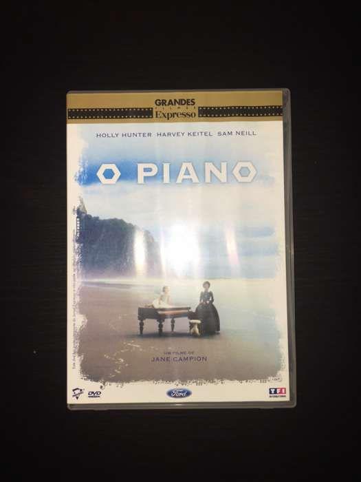 "DVD ""O piano"" (como novo)"