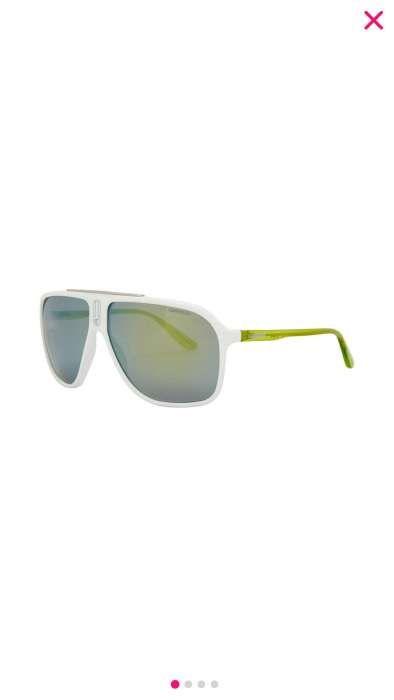 Óculos de sol CARRERA branco e verde f8443a766d