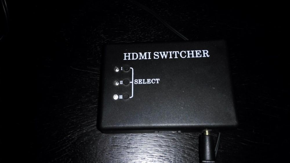 HDMI Switcher com 3 portas