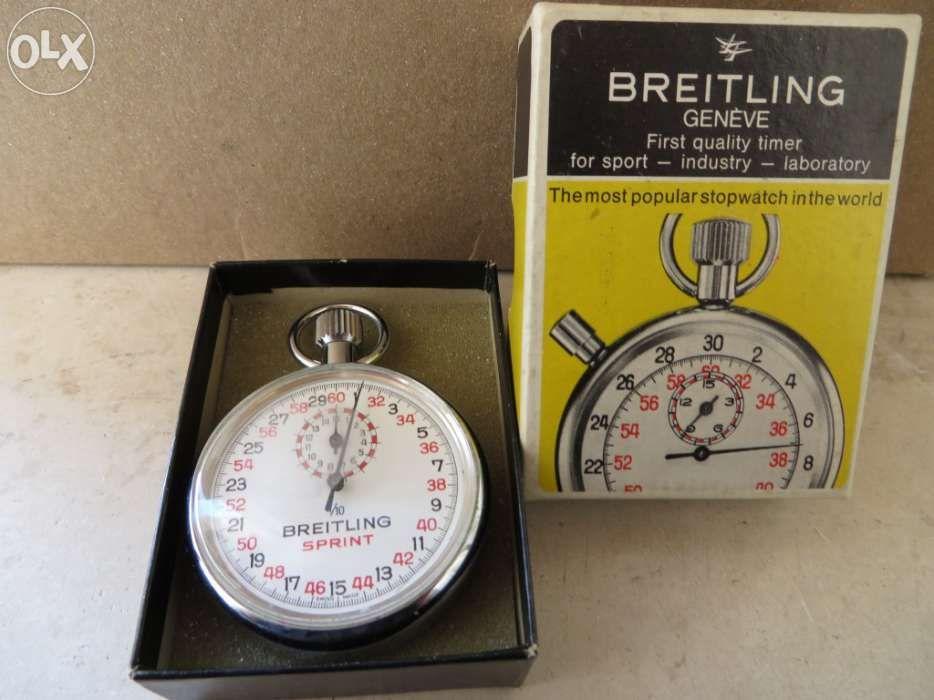 72c5ef7c9b1 Cronómetro vintage da marca breitling - caixa original - Parque das Nações  - Cronómetro vintage