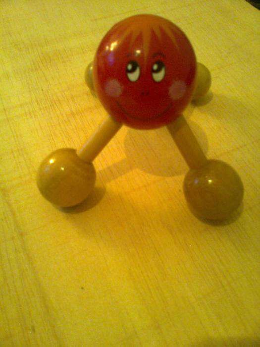 Brinquedo para massagens