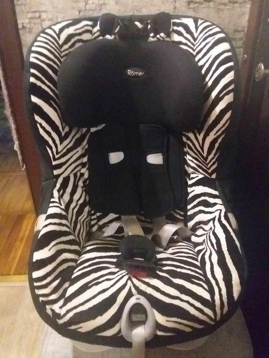 Детское автокресло ROMER KING II LS Smart Zebra