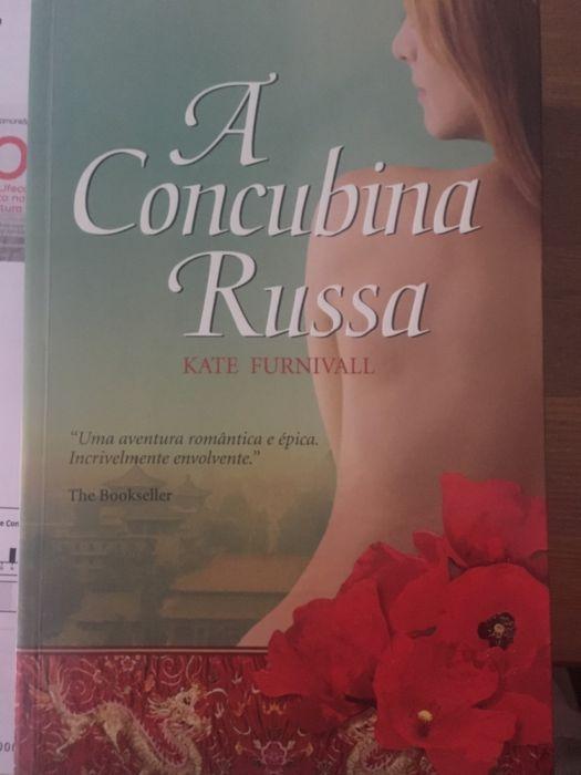 livro a concubina russa kate furnivall São Domingos de Benfica - imagem 1
