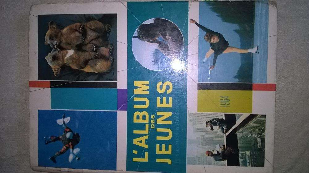 Livro álbum des jeunes de 1964