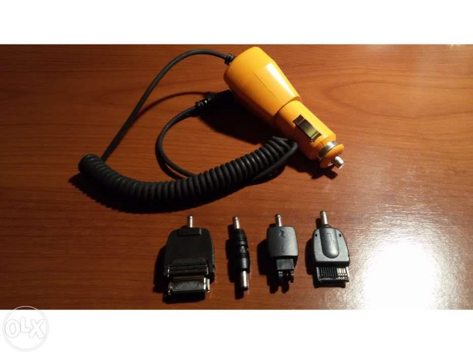 Carregador esqueiro universal com 4 adapatadores