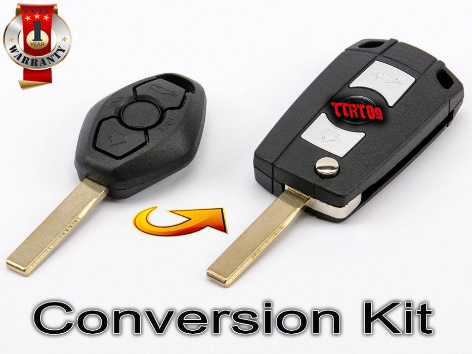 Kit de conversão de chaves BMW