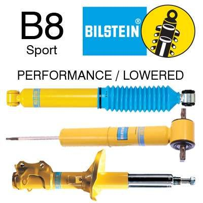 Amortecedores Bilstein B4, Bilstein B6, Bilstein B8