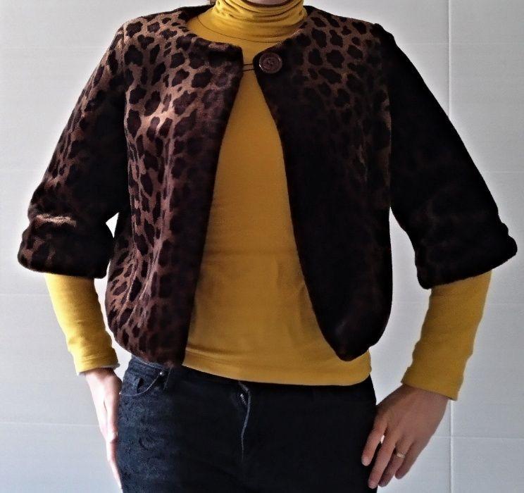 Casaco padrão tigresa