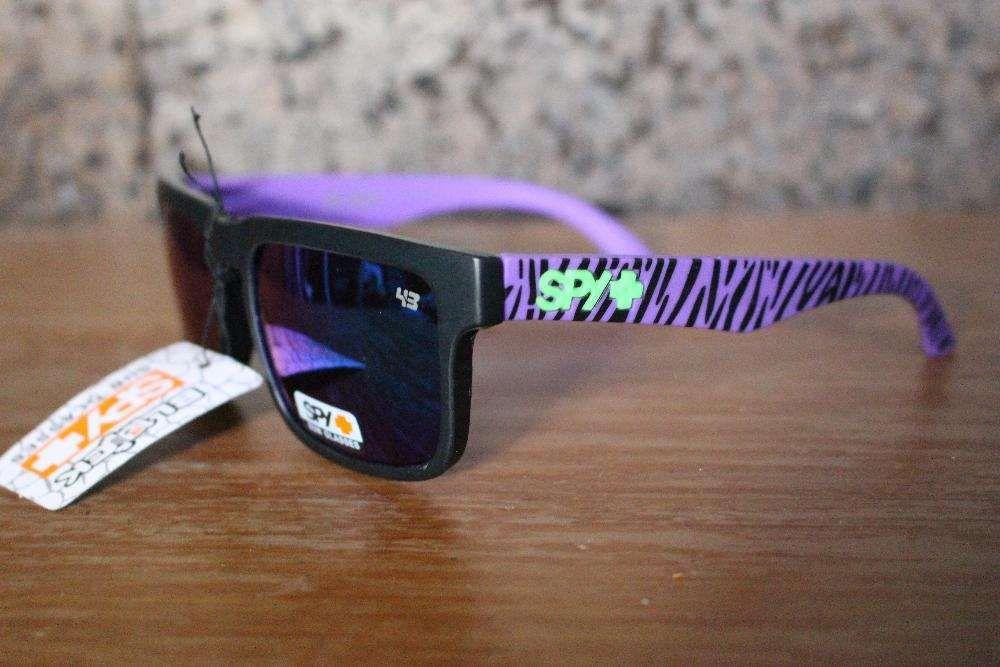 a4f2d56449112 Oculos de sol SPY Ken Block - Roxo Preto zebra (NOVO) Corroios • OLX  Portugal