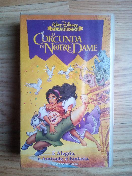 a93b9b61e0a O Corcunda De Notre Dame - Paredes De Coura E Resende - Cassete em VHS Vendo