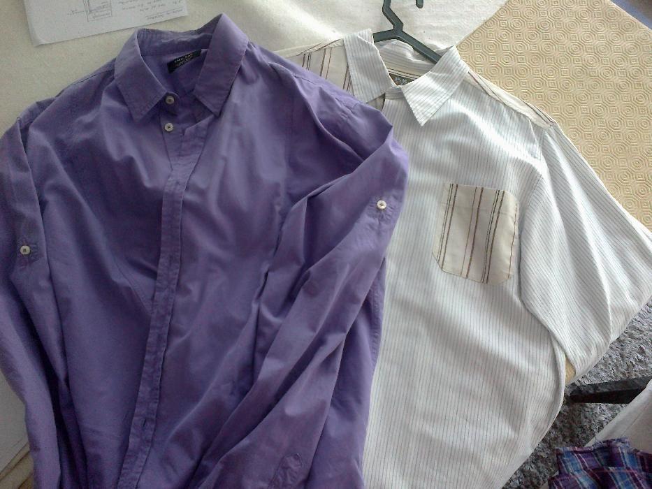 duas camisas manga comprida zara e P.K. - ofereço portes