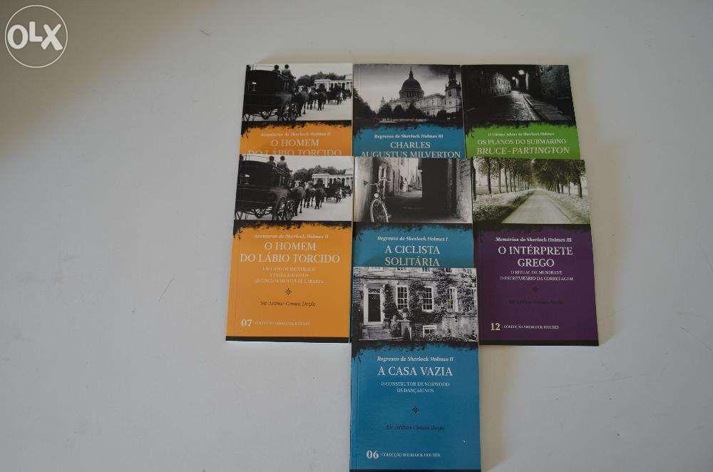 """Livros """"Colecção Sherlock Holmes"""""""