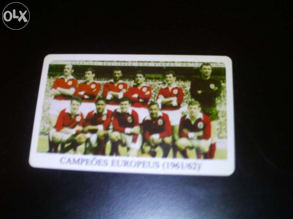 Calendario Del 1961.Calendario Equipa Do S L B Campeoes Europeus De 1961 62