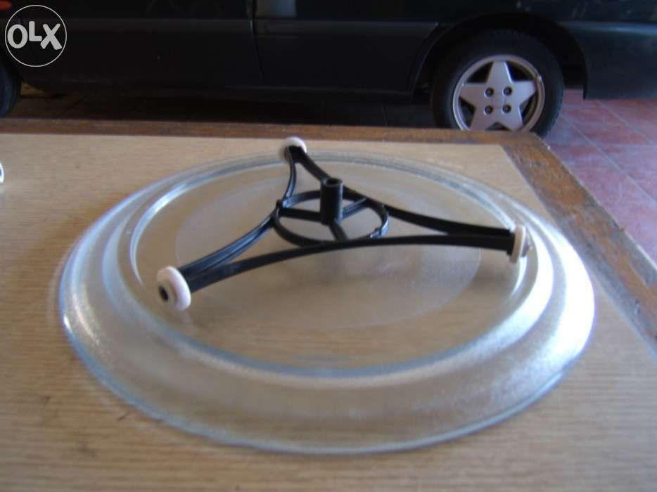 Prato microondas 28cm diâmetro