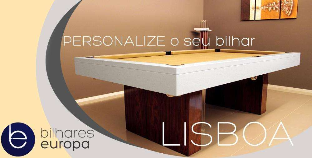 Bilhares europa fabricante mod Lisboa oferta tampo jantar e ping pong