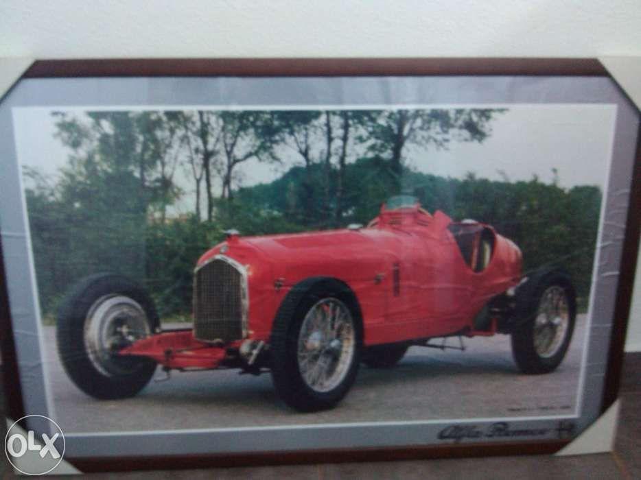 Quadro de parede Alfa Romeo
