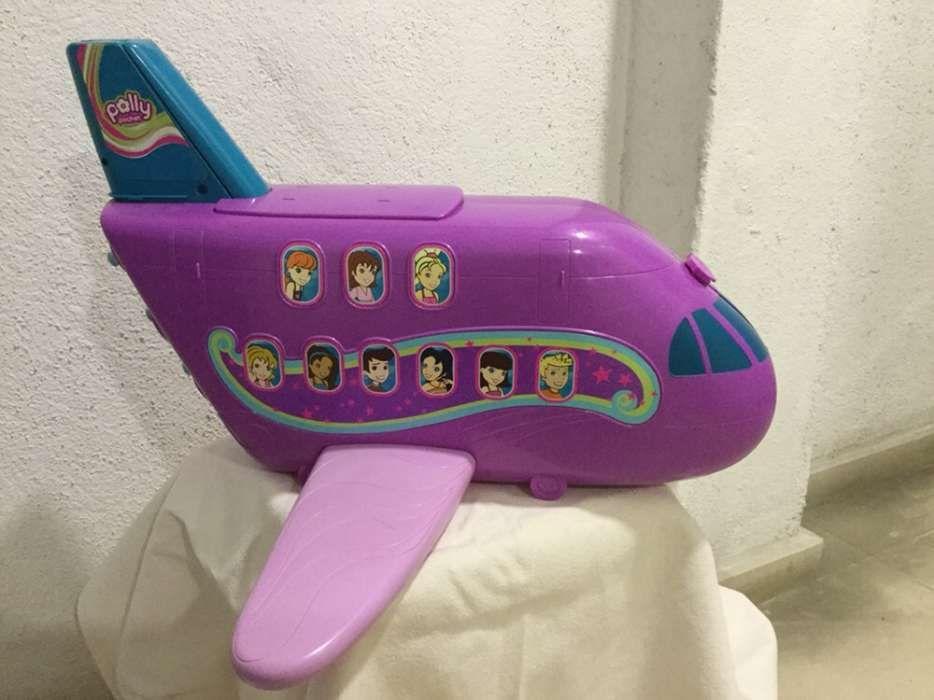 Avião da Polly