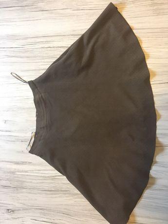 Czarna, szyfonowa spódnica midi, Zara, rozm. M Rydułtowy