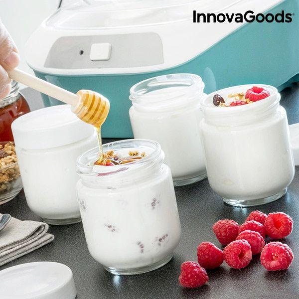 Iogurteira Vintage com 6 Frascos INNOVAGOODS 1 L 20W