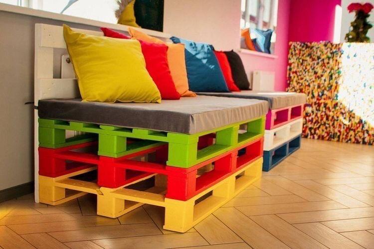 Подушки для мебели из паллет качелей беседок террас Днепр