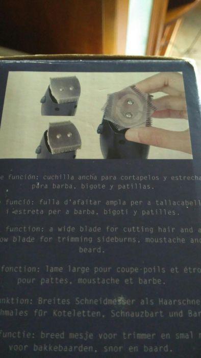 Máquina cortar Cabelo Taurus Dualis