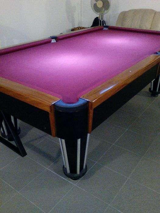 Mudança/ Reparação de Pano de Snooker/ Bilhar