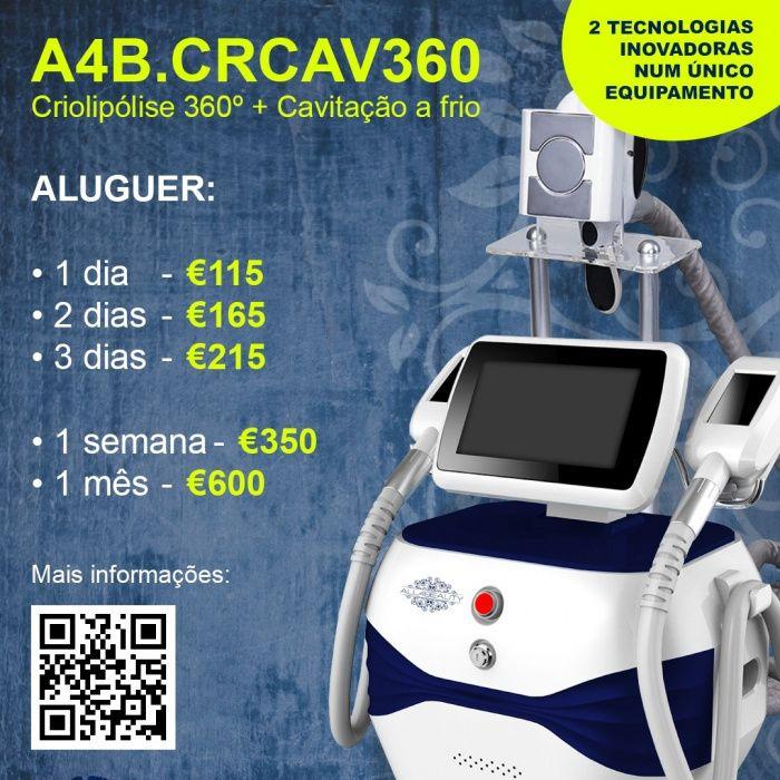 Aluga-se equipamento Criolipolise 360° Areeiro - imagem 1