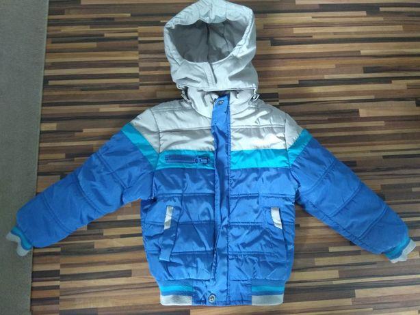 ciepła kurtka zimowa dziecieca 122
