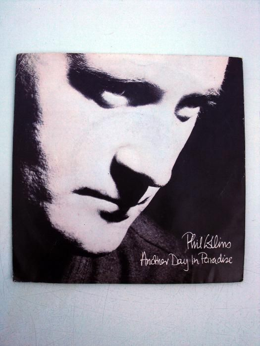 Disco vinil Phil Collins, Another day in paradise, 1989 - antiguidade