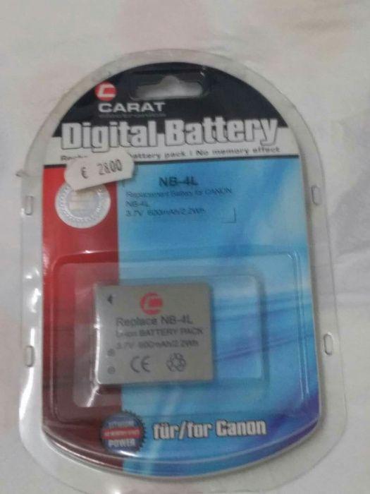 Bateria CARAT electronics NB-4L