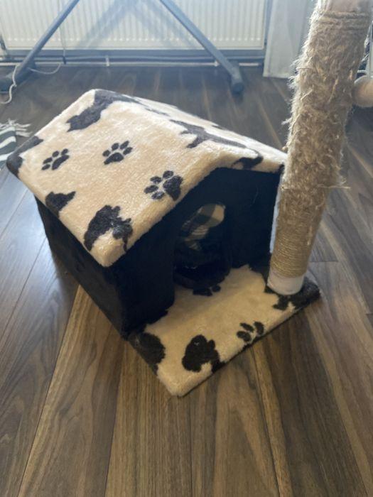 Домік Будинок будиночок для котика кота новий