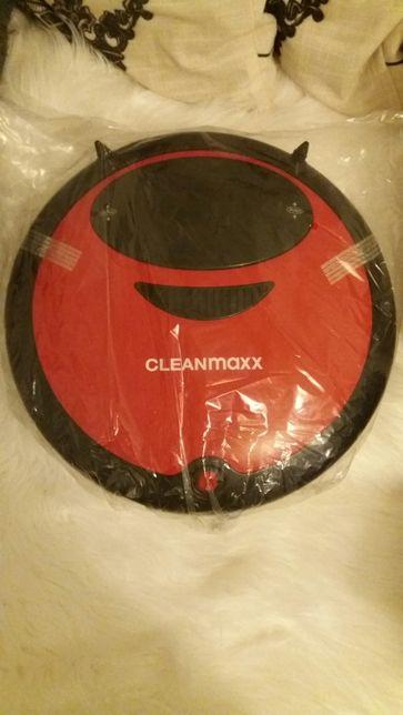 robot sprzątający odkurzacz clean maxx 2w1