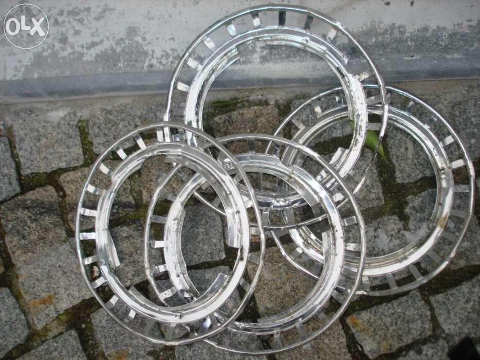 Aros de rodas para carros clássicos em aluminio