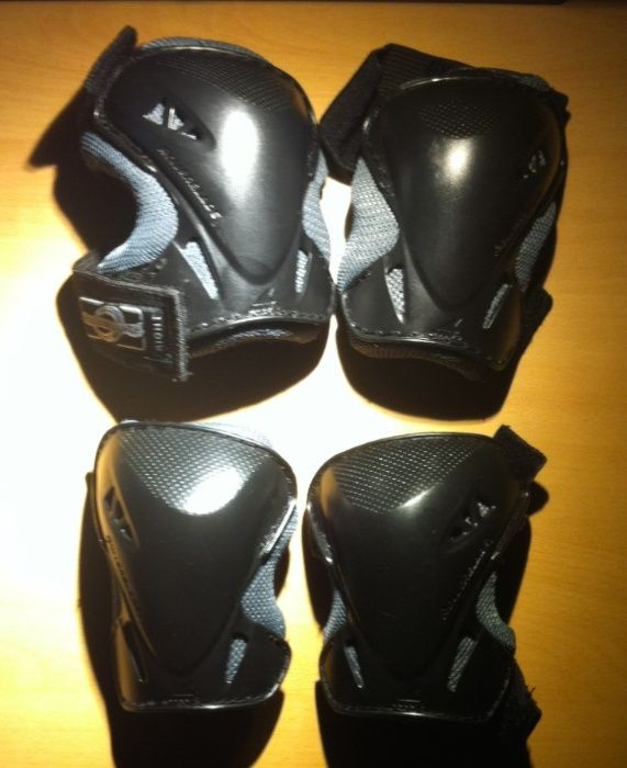 Proteções para patins ou sk8 da rollerblade