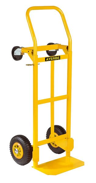 Carrinho Troley armazém para cargas horizontais e verticais 200kg
