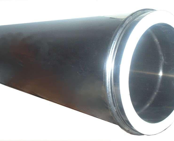 Tubo em inox de parede dupla 150 mm