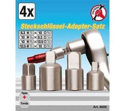 Kit Adaptador /Conversor Chaves Caixa 4pc