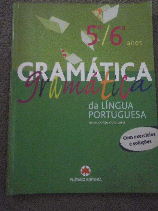 Gramática Língua Portuguesa 5º / 6º ano